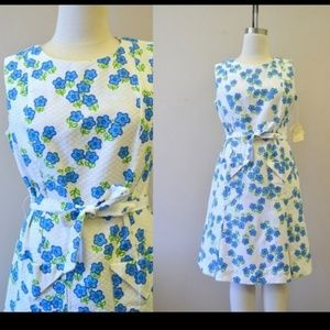 Vintage 1960s Bunny Casuals Hawaiian Pleated dress